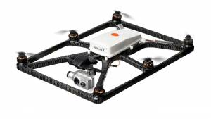 Fotokite tethered drone with dual thermal and regular light cameras