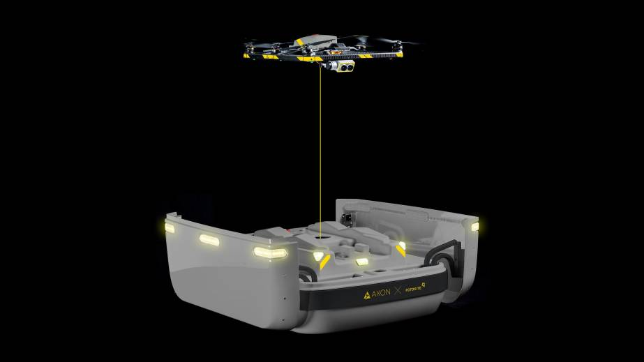 tethered drone axon