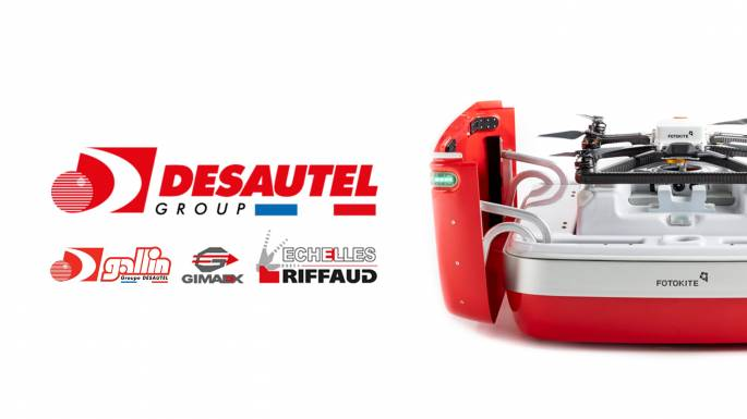 French Firefighters Desautel Fotokite partnership