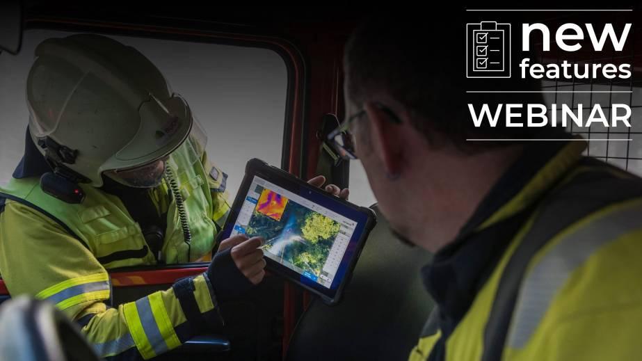 Fotokite webinar thermal imaging tablet