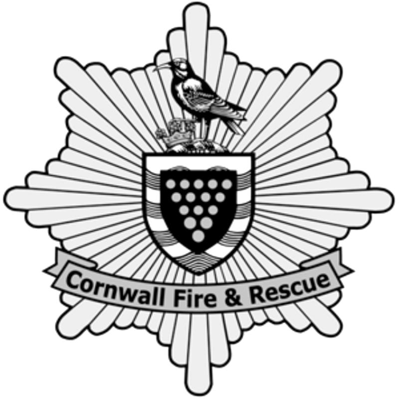 Cornwall fire rescue logo