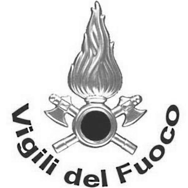 Milan fire fighters logo